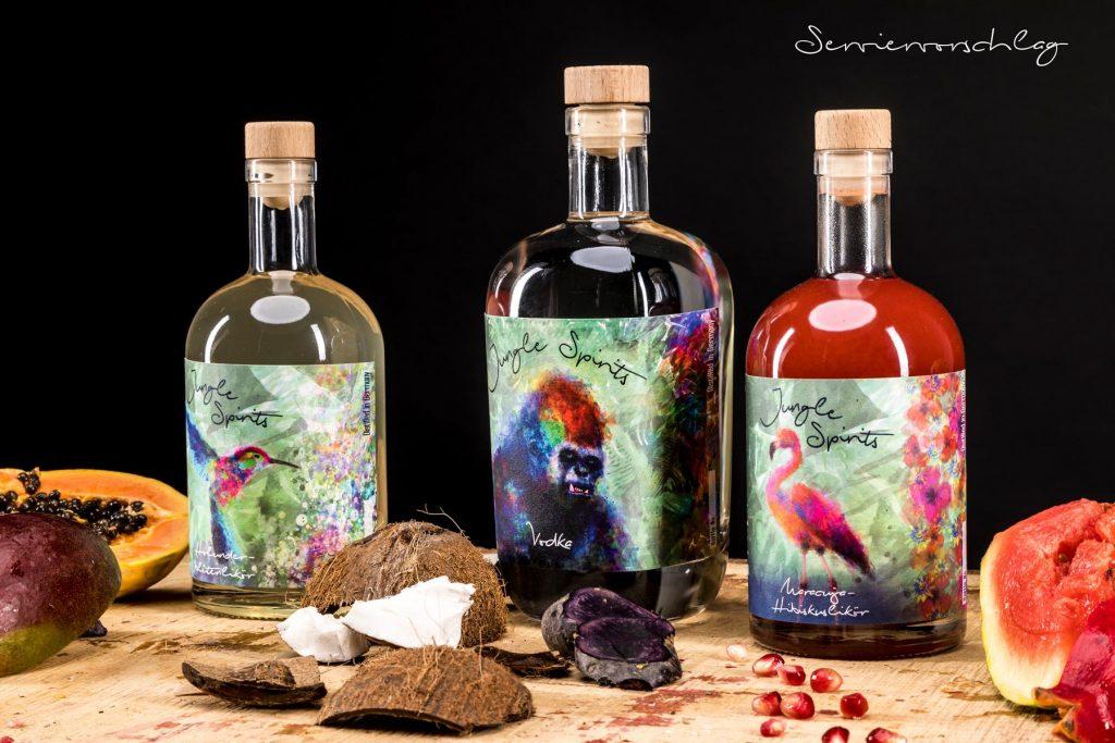 Jungle Spirits, unsere besondere Spirituosen-Produktlinie.