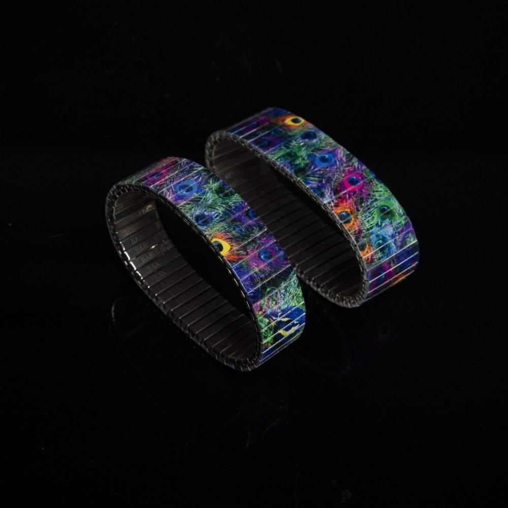 Wunderschönes Pfauen-Armband