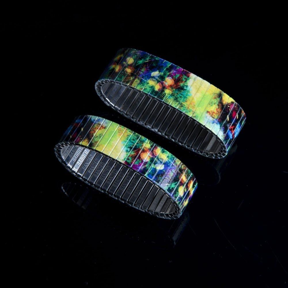 Buntes Armband mit Mandrillaffen, sehr hochwertiger Druck.