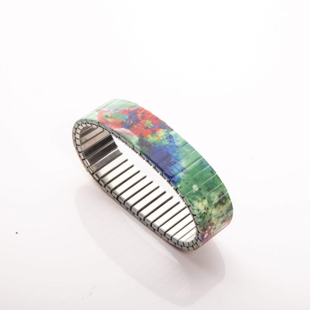 Farbenfrohes Kolibri Armband