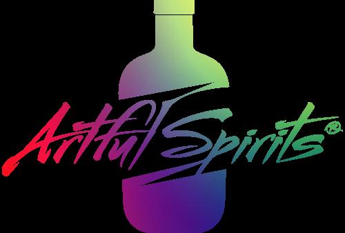 Ein farbenfrohes Logo der Firma Artful Spirits